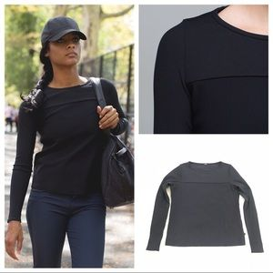 NWT Lululemon our of this world LS top